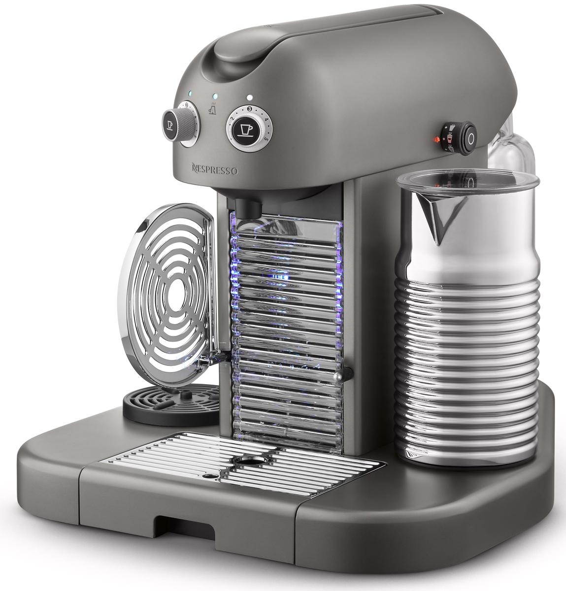 Nespresso Gran Maestria Titanium Coffee Maker C520TI Abt #494586