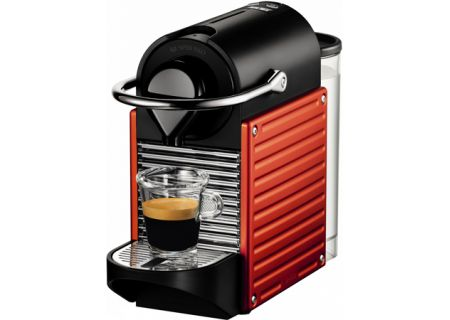 Nespresso Pixie Electric Red Espresso Machine - C60RE