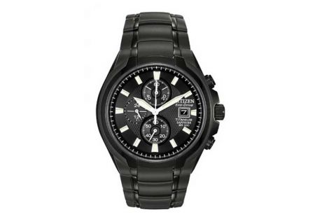 Citizen Drive Titanium Black Mens Watch - CA0265-59E