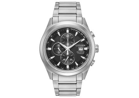 Citizen Eco-Drive Chandler Stainless Steel Mens Watch  - CA0650-58E