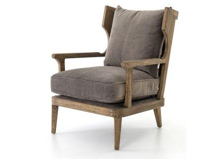 Four Hands Abbott Collection Imperial Mist Lennon Chair - CABT-51-160 - CABT-51-160