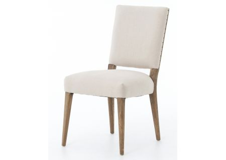Four Hands Abbott Collection Kurt Dining Chair-Dark Linen - CABT-89A