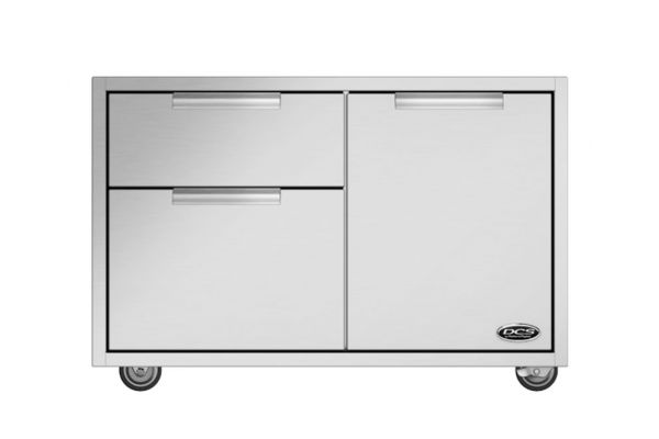 """Large image of DCS 36"""" CAD Stainless Steel Grill Cart  - CAD136"""