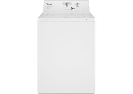 """Whirlpool 27"""" White Commercial Top-Load Washer - CAE2795FQ"""