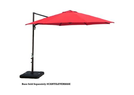 Hanover - CANTILEVER-RED - Patio Umbrellas, Fire Pits, & Accessories