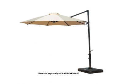 Hanover - CANTILEVER-TAN - Patio Umbrellas, Fire Pits, & Accessories