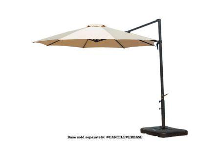 Hanover - CANTILEVER-TAN - Patio Umbrellas, Fire Pits, & Accessories