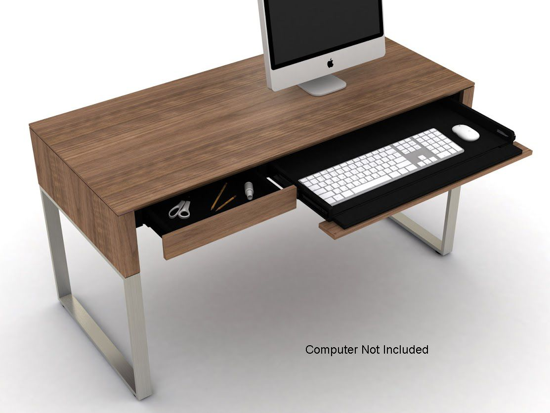 BDI Cascadia 40 Walnut Desk