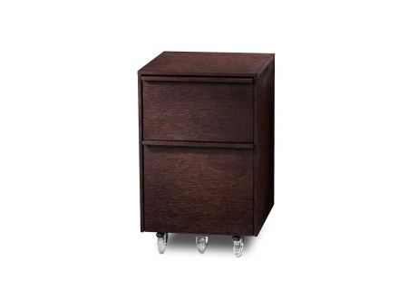 BDI Cascadia 6207 Espresso Stained Oak Mobile File Cabinet  - CASCADIA6207ESP