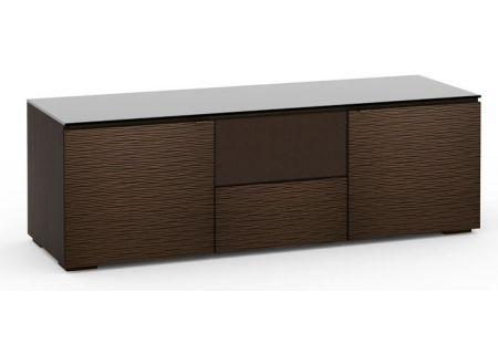 Salamander Designs Chameleon Collection Berlin 236 Wenge Textured Speaker Integrated Cabinet  - C/BL236/WE