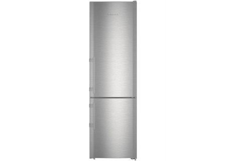 """Liebherr 24"""" Stainless Steel Bottom Freezer Refrigerator - CBS-1360"""