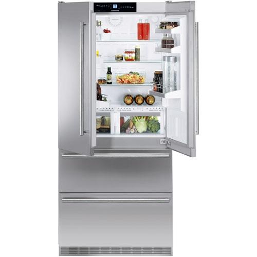 liebherr 18 8 cuft french freezer refrigerator cbs 2062. Black Bedroom Furniture Sets. Home Design Ideas