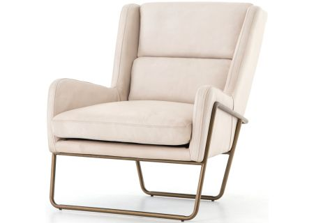 Four Hands Bishop Collection Alaskan Ivory Wembley Chair - CBSH-003-032