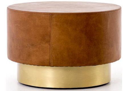 Four Hands Bishop Collection Patina Copper Flint Bunching Table - CBSH-012-102