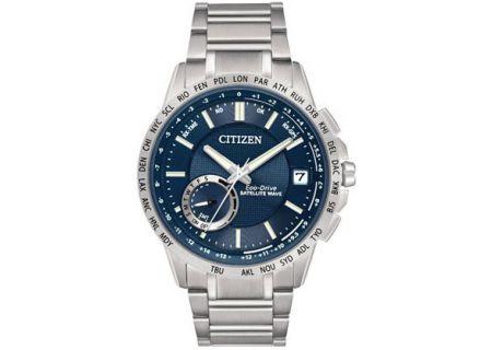 Citizen Eco-Drive Satellite Wave Mens Watch - CC3000-89L