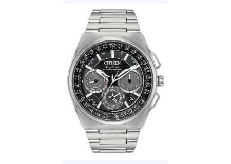 Citizen Eco-Drive Satellite Wave F900 Stainless Steel Mens Watch  - CC9008-50E