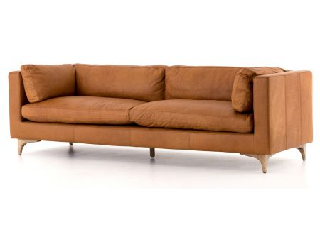 """Four Hands Carnegie Collection Naphina Camel Beckwith 94"""" Sofa - CCAR-62-039"""