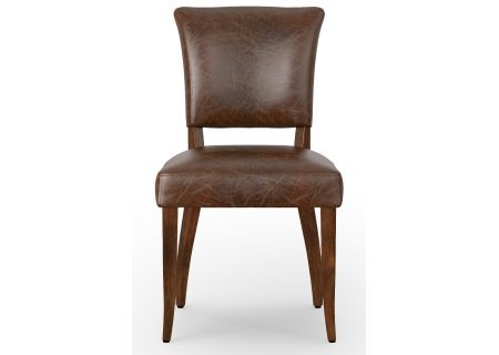 Four Hands Carnegie Collection Tan And Oak Mimi Dining Chair  - CCAR-M3-BKT