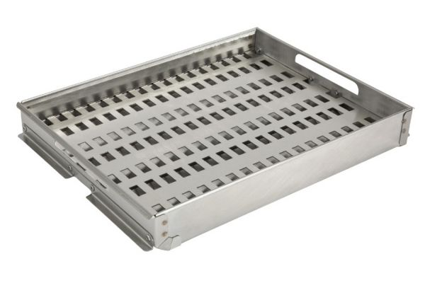 "Large image of Coyote Stainless Steel Charcoal Tray for 28"", 30"" & 42"" Grills - CCHTRAY15"