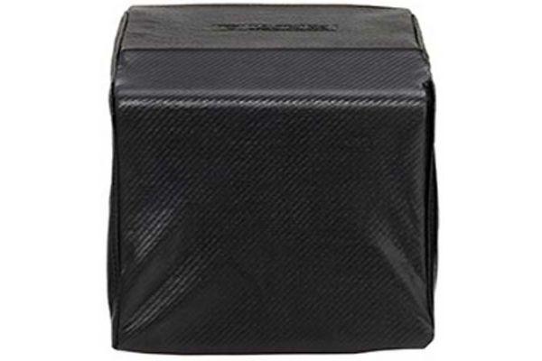 Large image of Lynx Carbon Fiber Vinyl Cover For Built-In Single Side Burner - CCLSB1