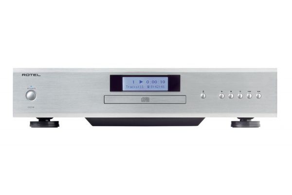 Large image of Rotel CD14 Silver CD Player - FR51744