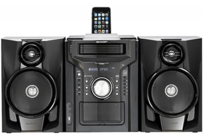 Sharp - CDDH950P - Mini Systems & iPod Docks