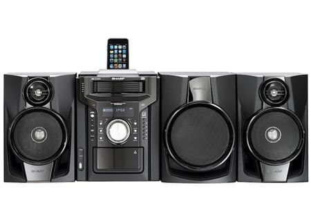 Sharp - CDDHS1050P - Wireless Multi-Room Audio Systems