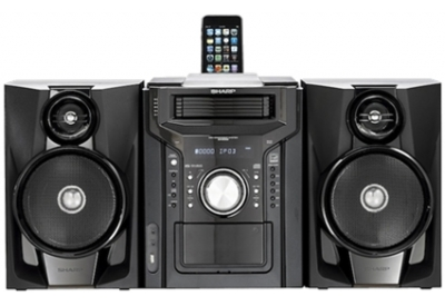 Sharp - CDDHS950P - Mini Systems & iPod Docks