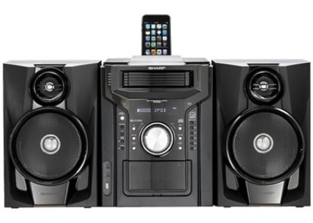 Sharp - CDDHS950P - Wireless Multi-Room Audio Systems