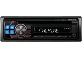 Alpine - CDE-121 - Car Stereos - Single Din