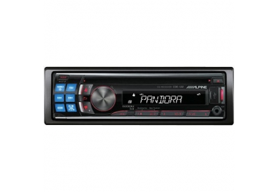 Alpine - CDE-122 - Car Stereos - Single Din