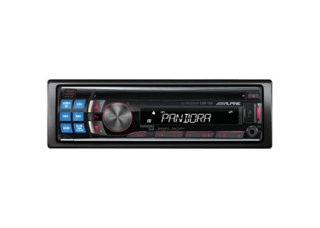 Alpine - CDE-122 - Car Stereos - Single DIN