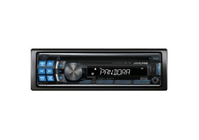 Alpine - CDE-123 - Car Stereos - Single Din