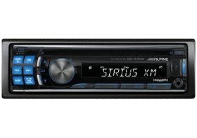Alpine - CDE-124SXM - Car Stereos - Single Din
