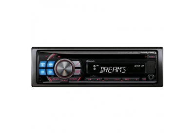 Alpine - CDE-125BT - Car Stereos - Single Din