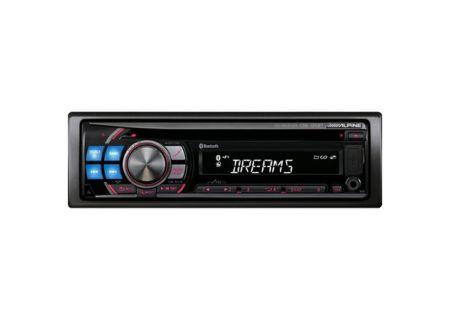 Alpine - CDE-125BT - Car Stereos - Single DIN