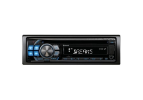 Alpine - CDE-126BT - Car Stereos - Single Din