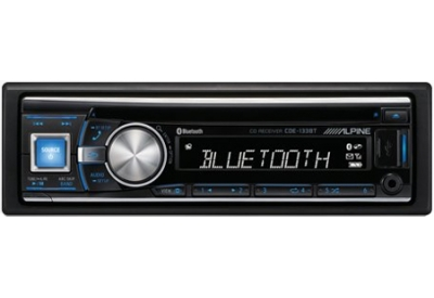 Alpine - CDE-133BT - Car Stereos - Single Din