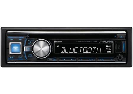Alpine - CDE-133BT - Car Stereos - Single DIN