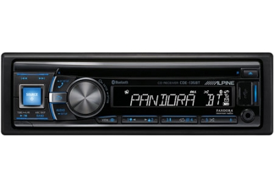 Alpine - CDE-135BT - Car Stereos - Single DIN