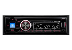 Alpine - CDE-141 - Car Stereos - Single Din