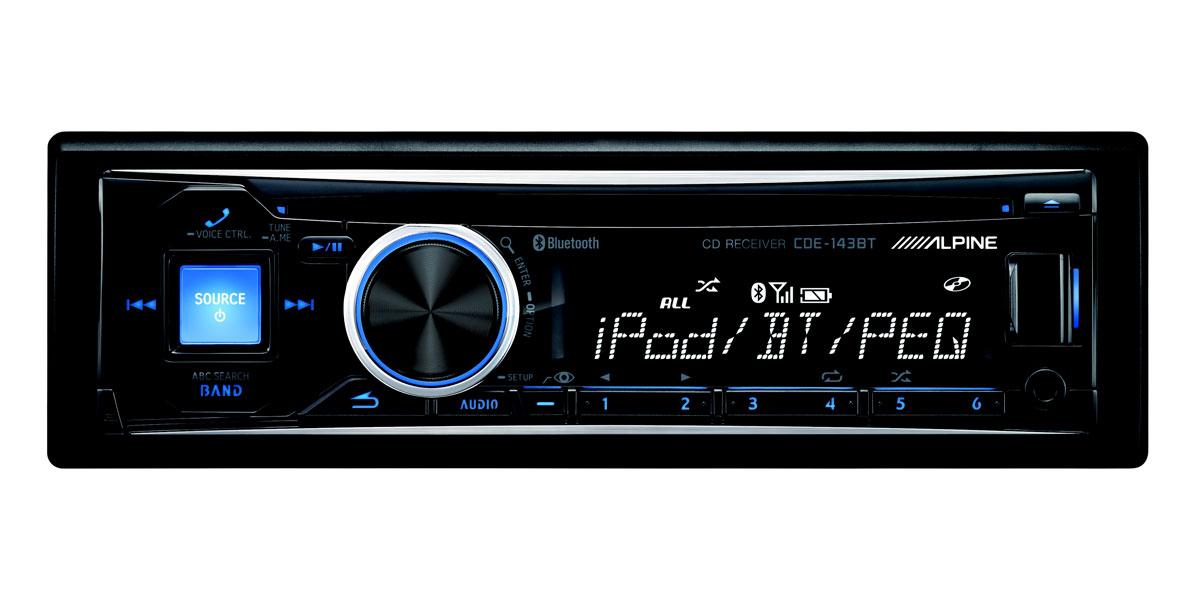 Big Cde Bt on Alpine Car Stereo Ipod