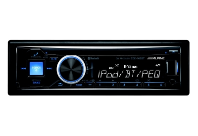 Alpine - CDE-143BT - Car Stereos - Single DIN