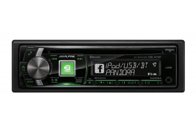 Alpine - CDE-147BT - Car Stereos - Single Din