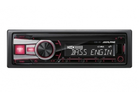 Alpine - CDE-151 - Car Stereos - Single Din