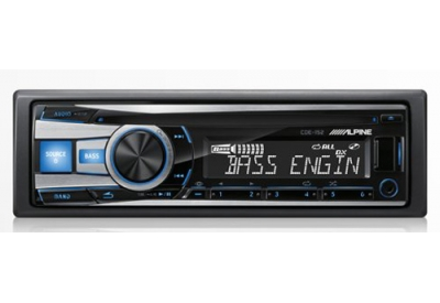 Alpine - CDE-152 - Car Stereos - Single Din