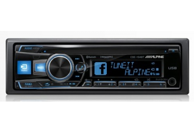 Alpine - CDE-154BT - Car Stereos - Single Din