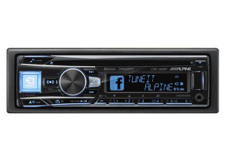 Alpine - CDE-164BT - Car Stereos - Single DIN