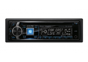 Alpine - CDE-HD148BT - Car Stereos - Single Din