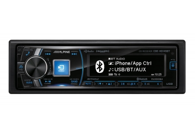 Alpine - CDE-HD149BT - Car Stereos - Single Din
